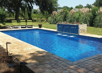 Inground swimming pool sales in the greater lake city for Tallahassee pool builders